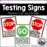 Stop Sign Testing Signs