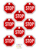"""Stop Sign """"Thank You"""" Tags"""