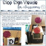 Stop Sign Visuals