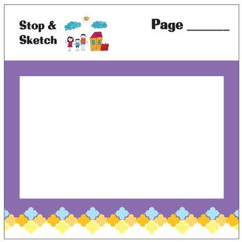 Stop & Sketch Sticky Notes for Teachers & Students
