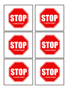 Stop! Student response cards