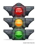 Stop Think Choose Visual