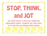 Stop Think and Jot about Reading