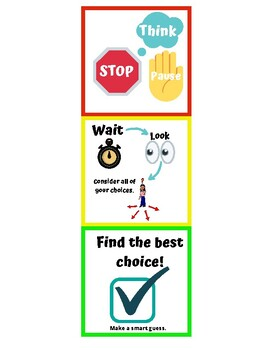 Stop, Wait, and Make the Best Choice Visual