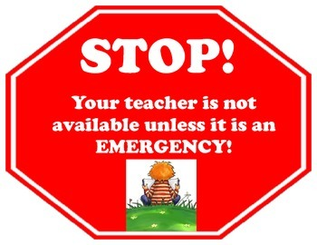 Stop Your Teacher is Not Available