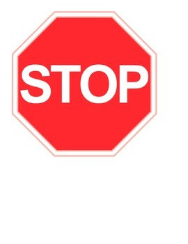 Stop and Go Circle Signs