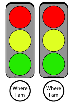Stop and Go Formative Assessment - Where I am