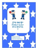 """Stop and Go - Reading 2-Syllable Words with Final """"y"""""""