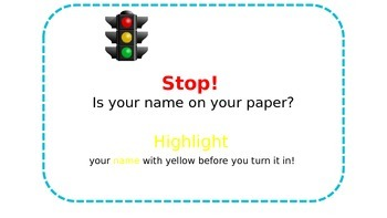 Stop! and Highlight!