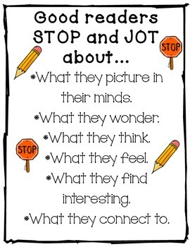Stop and Jot