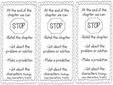 Stop and Jot Bookmark