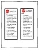 Stop and Jot Bookmarks