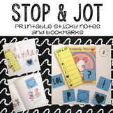 Stop and Jot: Printable Sticky Notes