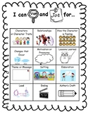Stop and Jot Reference Sheet