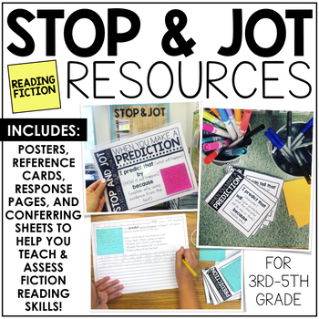 Stop and Jot Resources (Fiction)