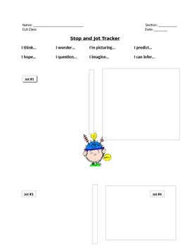 Stop and Jot Tracker