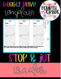 Stop and Jot Tracker for Google Drive