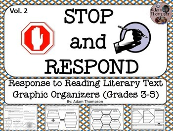 Graphic Organizers for Reading Response to Literary Text Vol. 2
