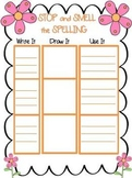 Stop and Smell the Spelling Activity Game