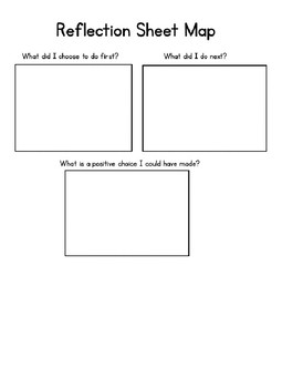 Classroom Management Think Sheets