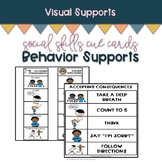 Stop and Think Social Skills Cue Cards