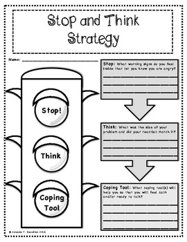 Stop and Think Strategy