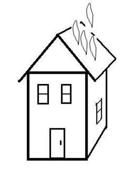 Stop, drop, and roll_Fire Prevention_Fire Safety. A cut & paste booklet.