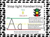 Stop light Handwriting