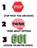 Stop opt and go/ Stop and think