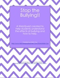 Stop the Bullying!! (Social Skills WebQuest)