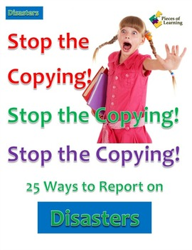 Stop the Copying!- Disasters
