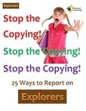 Stop the Copying!- Explorers