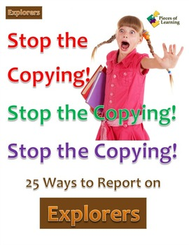 Stop the Copying!- Explorers