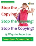 Stop the Copying!- Inventors and Inventions