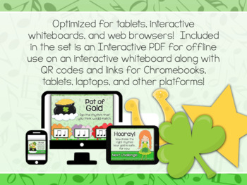 Interactive PDF - Stop the Leprechaun St. Patrick's Day Rhythm Game
