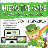 Interactive Rhythm Game - Stop the Leprechaun St. Patrick'