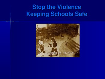 Stop the Violence Keeping Kids Safe in School
