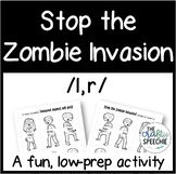 Stop the Zombie Invasion: An Articulation Activity for /l, r/
