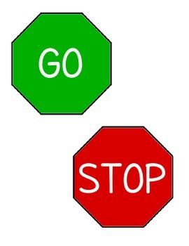 Stop/Go Signs