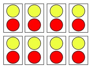 Stoplight Behavior Cards