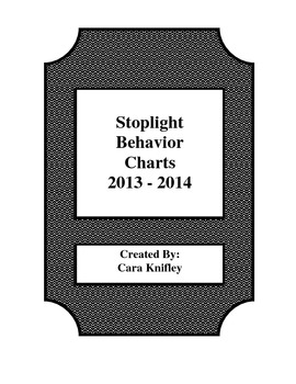 Stoplight Behavior Charts