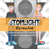 Stoplight Discussion   A Student-Led Speaking Activity