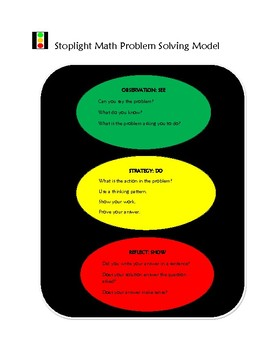 Stoplight Math Bellringers