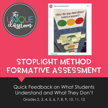 Stoplight Method Formative Assessment
