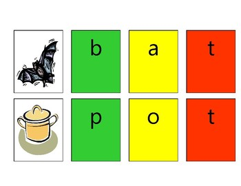 Stoplight Phonics in Action Phonemic Awareness Puzzles