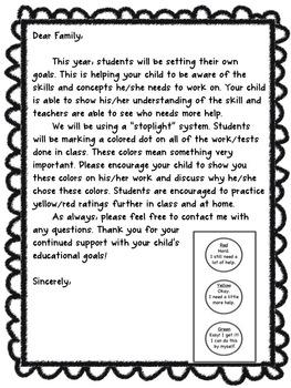 Stoplight Student Assessment