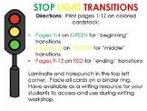 Stoplight Transition Cards