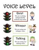 Stoplight Voice Level Sign *FREE*