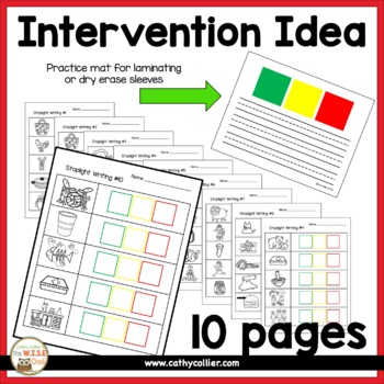 Stoplight Writing #3:  Writing Intervention & Practice