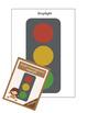 Stoplight traffic light for anger management